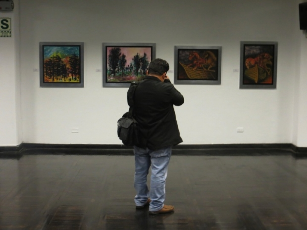 Latin American Art Exhibition -Lima 2013